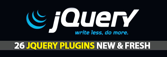 Post image of 26 jQuery Plugins New & Fresh