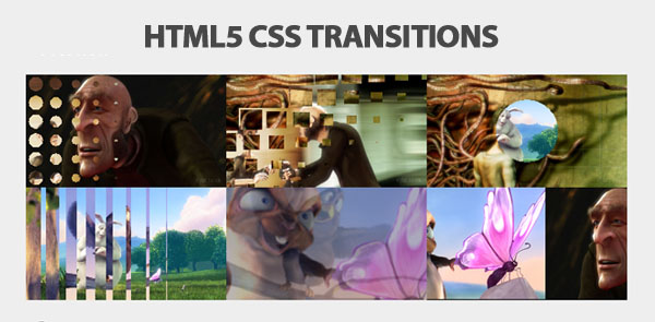 Html5 CSS3 Tansactions Slider
