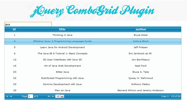jquery-combogrid-plugin