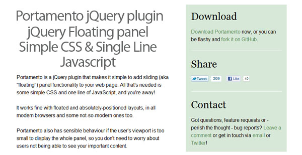 jquery-floating-panel-plugin