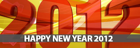 Happy New Year 2012 To All My Readers