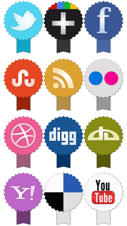 Best Social Media Icon Sets In 2011