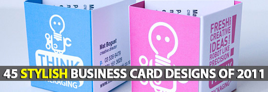 Post image of 45 Stylish Business Card Designs Of 2011