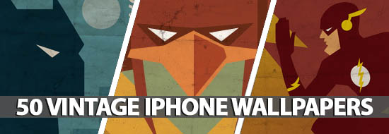 50 Vintage iPhone Wallpapers