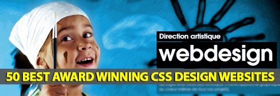 50 Best Award Winning CSS Design Websites