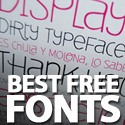 Post thumbnail of Best Free Fonts From 2011