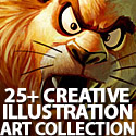 Post Thumbnail of Creative Illustration Art Collection