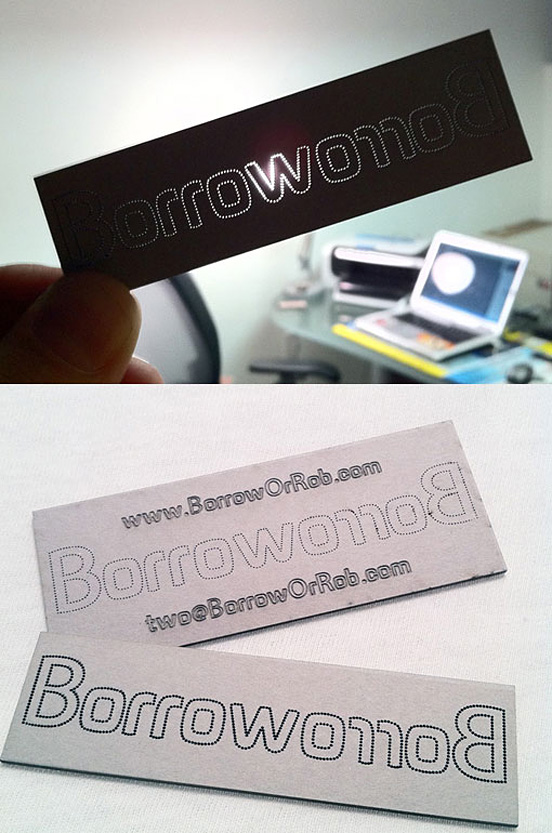 35 Die Cut Business Card Designs Design