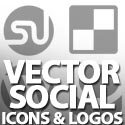 Post Thumbnail of Fee Vector Social Media Icons & Logos