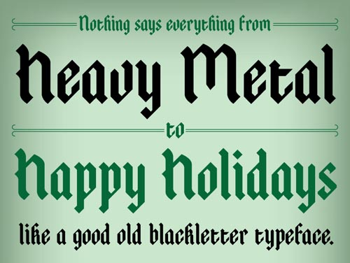 Free Fonts: 40 Fresh Hi-Qty Free Fonts