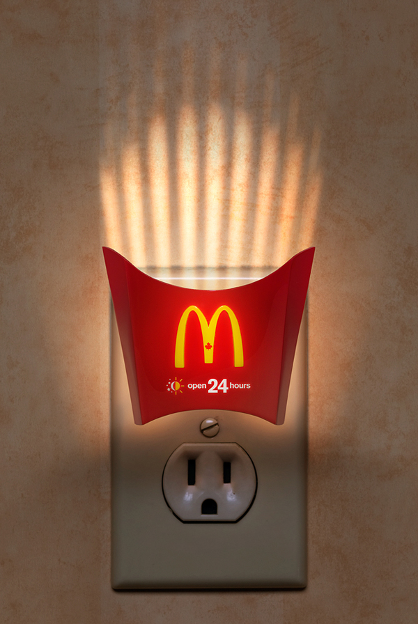 35 clever poster advertisement ideas design graphic ForNight Light Design