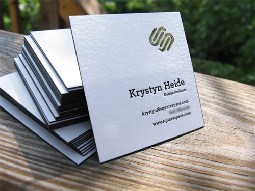 Creative Square Business Cards