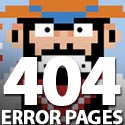 Post Thumbnail of 404 Error Page - 30 Fresh Inspiring 404 Pages