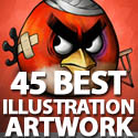 Post Thumbnail of 45 Best Illustration Artwork For Design Lovers