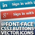 Post Thumbnail of 40+ CSS3 Buttons & Vector Icons