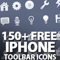 Post Thumbnail of 150+ Hi-Qty Free iPhone Toolbar Icons