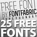Post thumbnail of 25 Free Fonts For Professional Designers