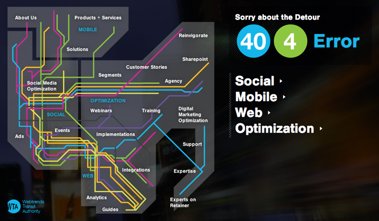 404 Page Designs