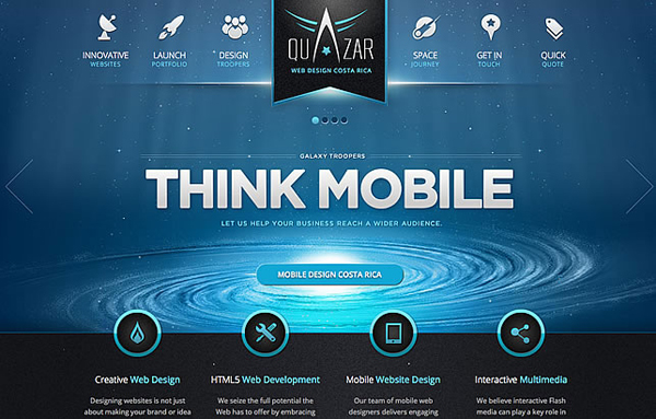45 fresh award winning websites design graphic design for Home plan websites