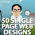 Post Thumbnail of 50 Dazzling Single Page Website Designs
