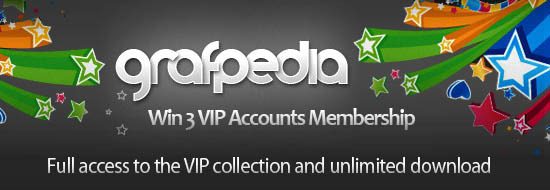 Giveaway: Win 3 VIP Accounts From Grafpedia