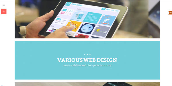 Single Page Website Design