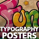 Post Thumbnail of Typography Posters: 30 Creative Poster Designs