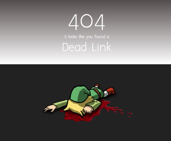 404 Error Pages Design