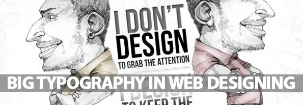 Big Typography in Web Designing (30 Examples)