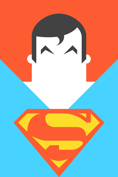 Superman Illustration