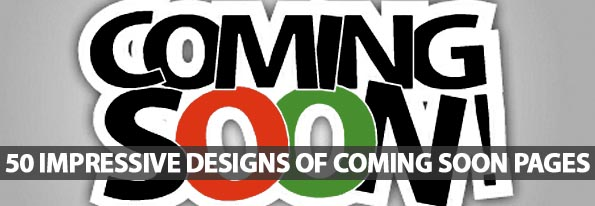 50 Impressive Design Of Coming Soon Pages