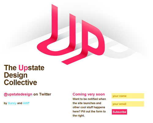 Coming Soon Page Design