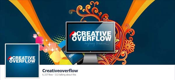 Creative Overflow Facebook Timeline Cover