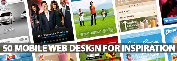 Mobile Web Design For Inspiration - Best Post Of 2012
