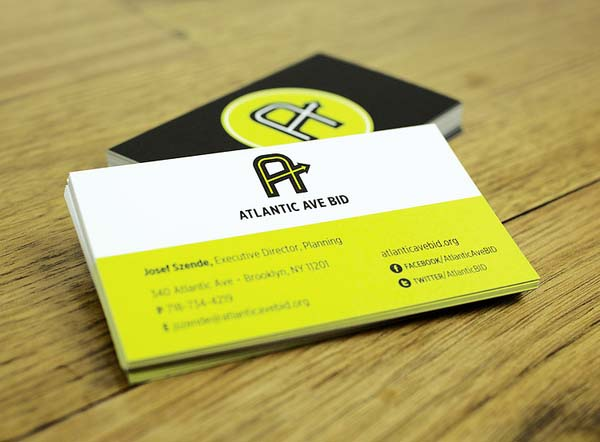 Atlantic Ave BID Business Cards