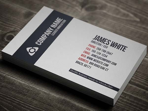 Custom Card Template design a business card : Ultimate Collection Of Business Cards Design (26 Examples ...