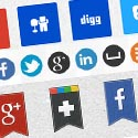Post Thumbnail of Free Social Media Icons (34 Sets)