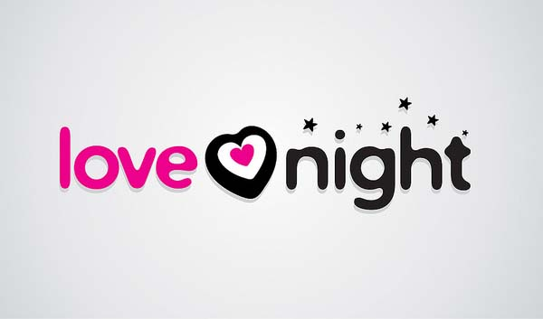 Love night logo design
