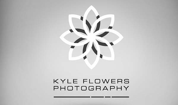 Flowers Photography logo design
