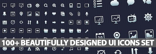 100+ Beautifully Designed Vector User Interface Icons