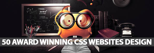 50 Awards Winning CSS Websites Design