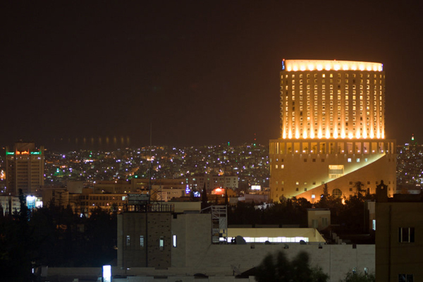 Amman at night (Jordan)