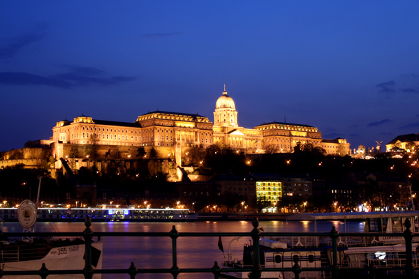 Budapest at night (Hungary)