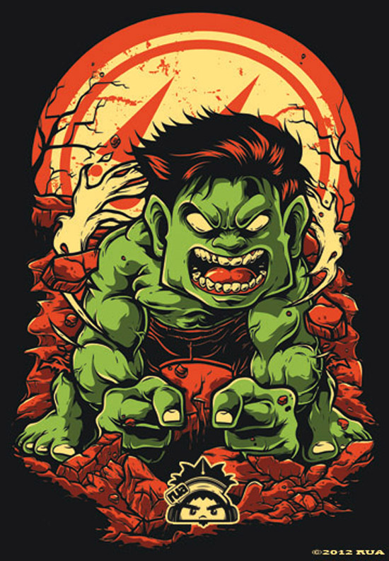 artwork hulk illustration creative angry rua avengers digital behance stunning fresh examples illustrations works ilustraciones deviantart nerd visitar graphic save