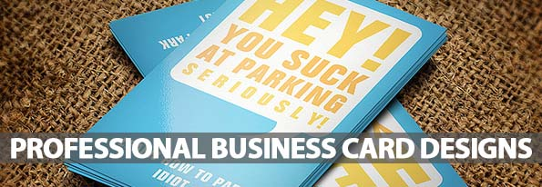 Professional Business Cards Design (32 Examples)