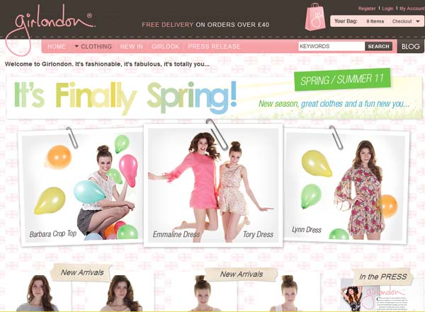 Great Website Design Ideas httplarissanesscom Inspiring Examples Of E Commerce Web Designs