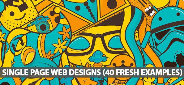 Single Page Web Designs (40 Fresh Examples)