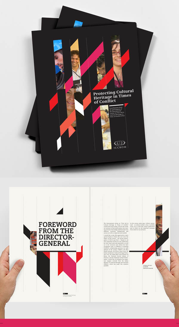 Corporate brochure designs 25 inspiring examples design for Graphic design brochure