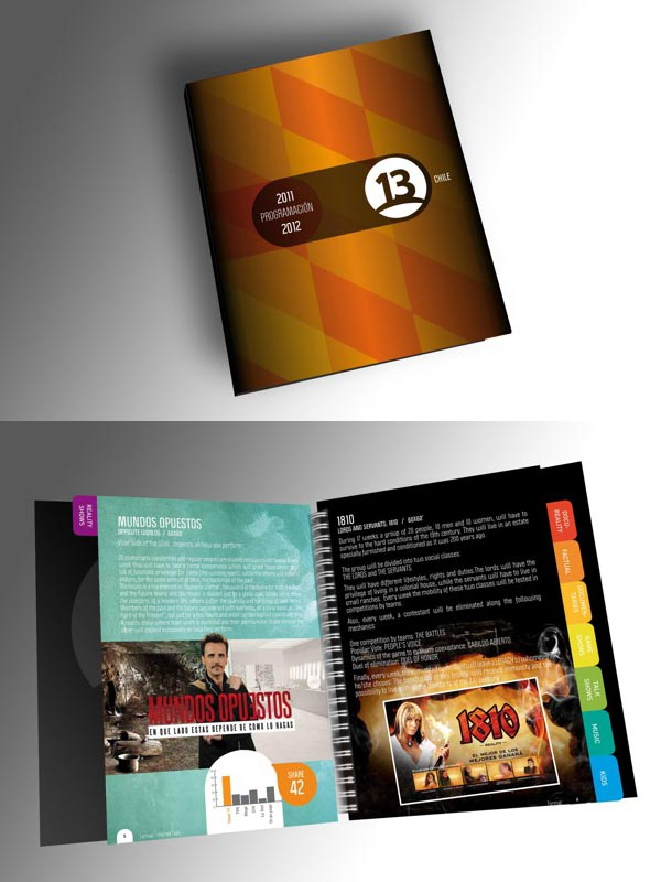 Brochure Designs: 25 Corporate Design For Inspiration 14