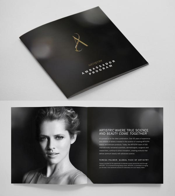 Brochure Designs: 25 Corporate Design For Inspiration 22